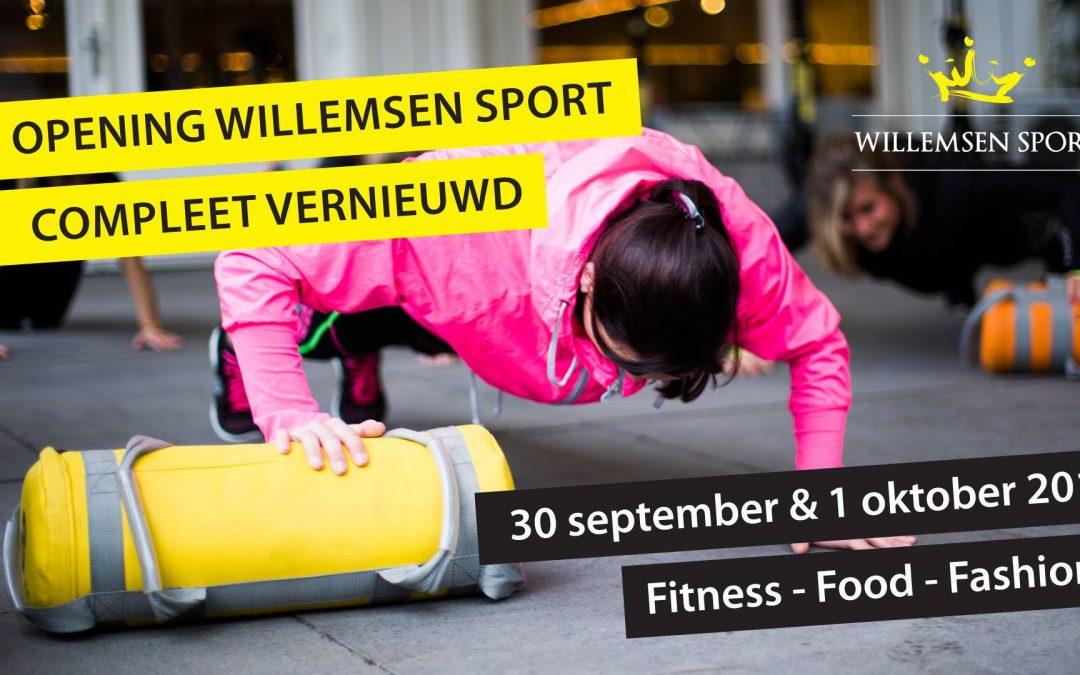 Heropeningsweekend Willemsen Sport
