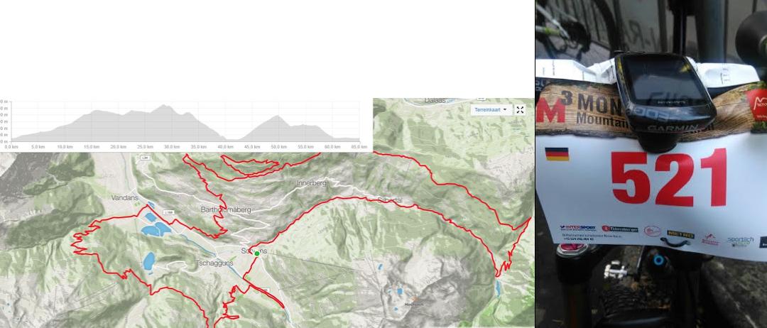 Omar participeert in mountainbike marathon in Oostenrijk