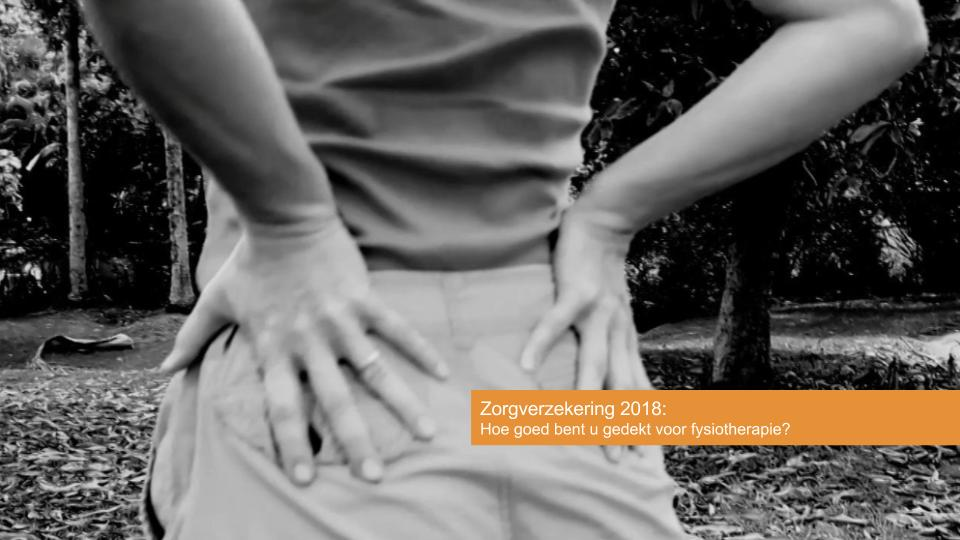 Zorgverzekeraars bezuinigen op dekking fysiotherapie in 2018!